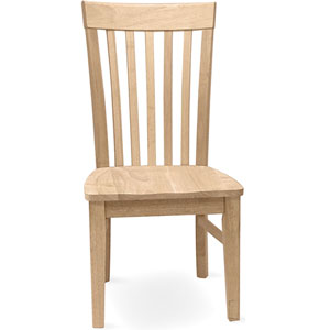 Set of 2 Unfinished Tall Mission Chair C-465P (IC)