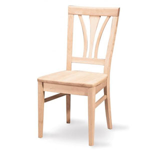 Solid Wood Fanback Chair C-918P (IC)