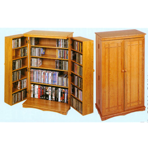 The Clic Mission Cd Dvd Cabinet 612 Le Free Shipping