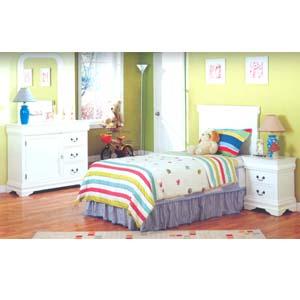 4 Pc Youth Bedroom Set CM7991_ (IEM)