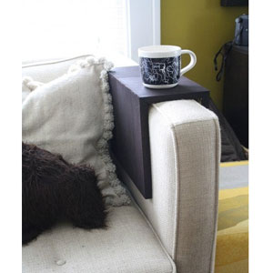 Custom Made Solid Wood Couch Arm Tray (USM)