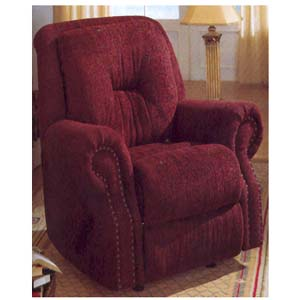 Burgundy Rocker/Recliner F7733 (PX)