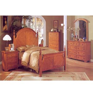 Beautiful Queen Bed F9069 (PX)