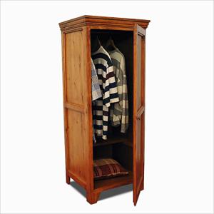 Solid Wood Mini Wardrobe 1 panel Door GCC2(GH)