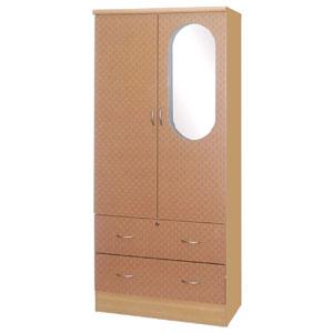 2-Door 2-Drawer Wadrobe HI288_(HOFSU115)