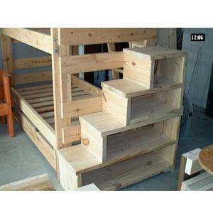 loft bed steps plans
