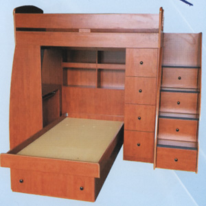 Custom Made Twin/Full Loft Bed T-6(CT)