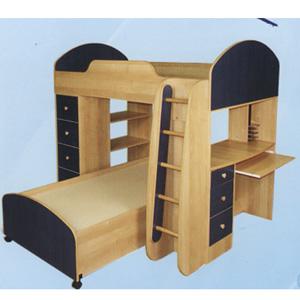 Custom Made Twin/Twin Loft Bed FH-75(CT)