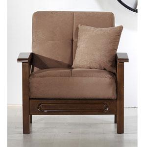 Vera Convertible Arm Chair - Rainbow Truffle (SU)