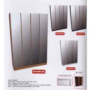 4-Door Fully Mirrored Wardrobe W448M(WPFS150)