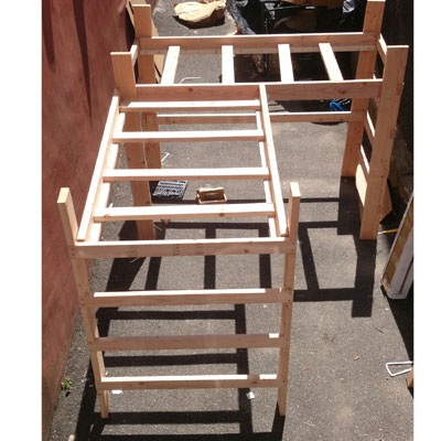 L Shaped Loft Bed Assembly Instructions
